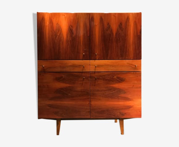 Armoire Bytom Furniture Factory Pologne 1970s