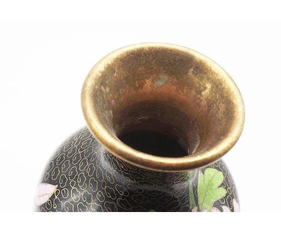 Vase cloisonné chinois