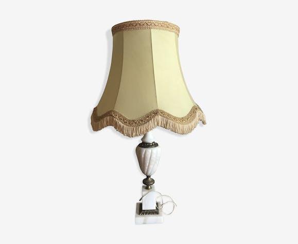 Lampe à pied en albâtre 1920   Selency