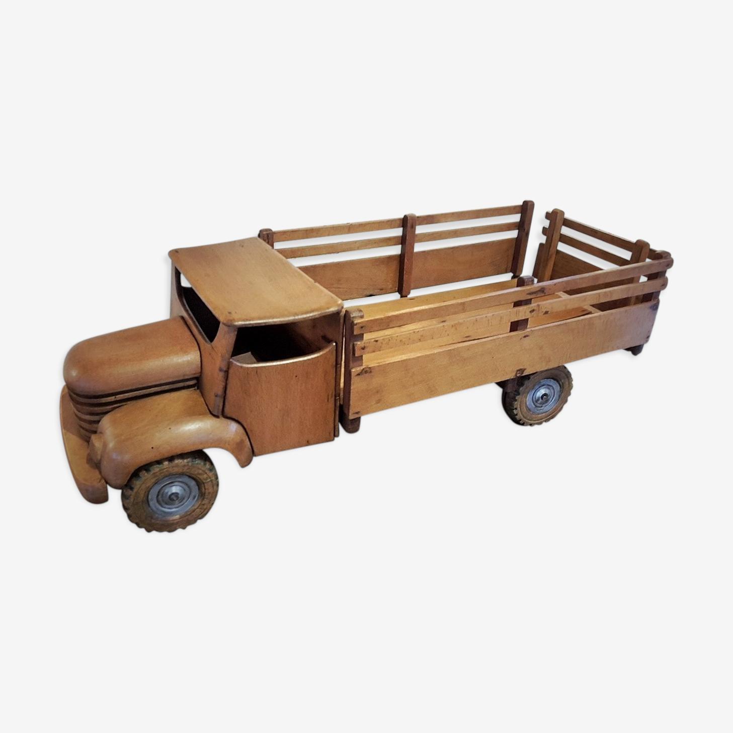 Camion bois style dejou france années 30