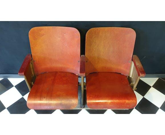 Chaises de cinéma vintage