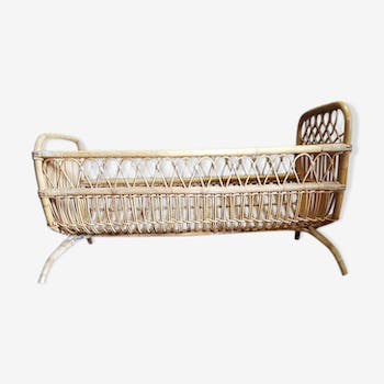 Rattan child bed