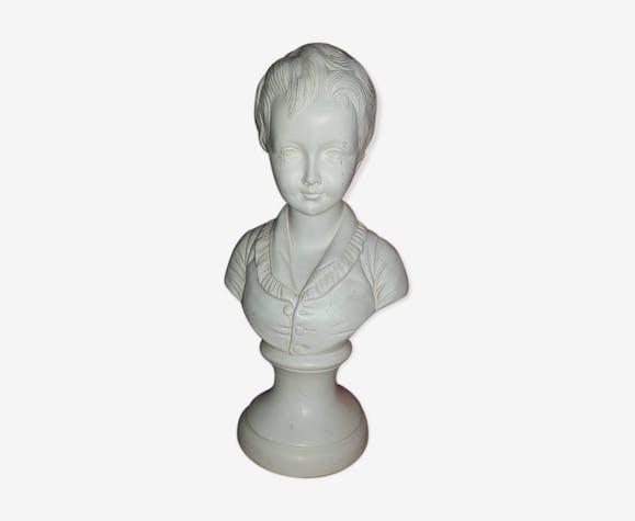 Girl plaster statuette