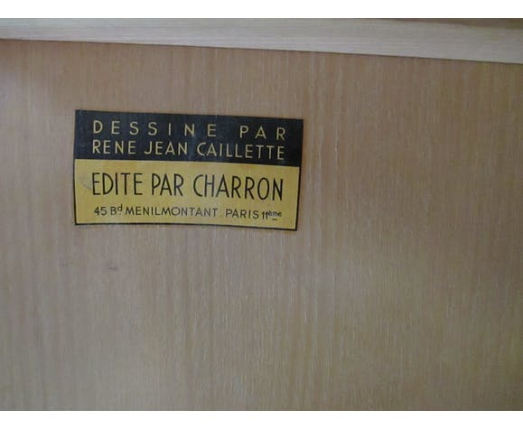 Meuble en frêne de René-Jean Caillette