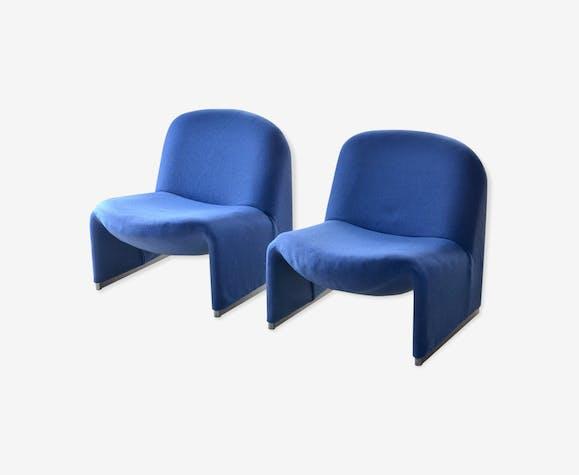 """Paire de fauteuils """"Alky"""" de Giancarlo Piretti pour Castelli"""