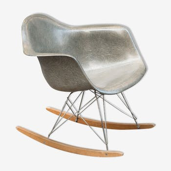 Rocking vintage by Charles & Ray Eames for Herman Miller - 1950