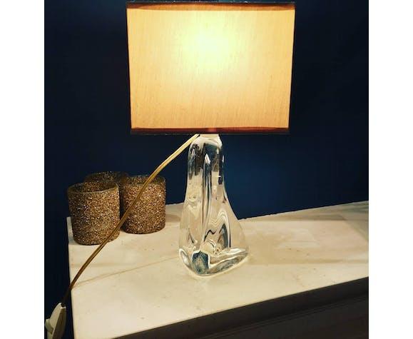 Lampe vintage en verre