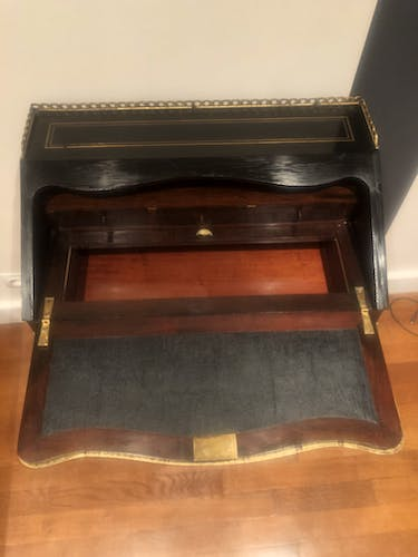 Slope time Napoleon III XIX th writing desk