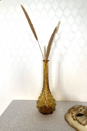 Carafe ambrée 1970