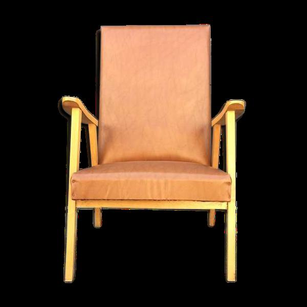 Fauteuil design scandinave vintage