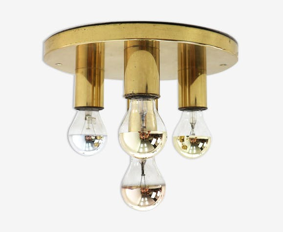 Brass ceiling lamp 70