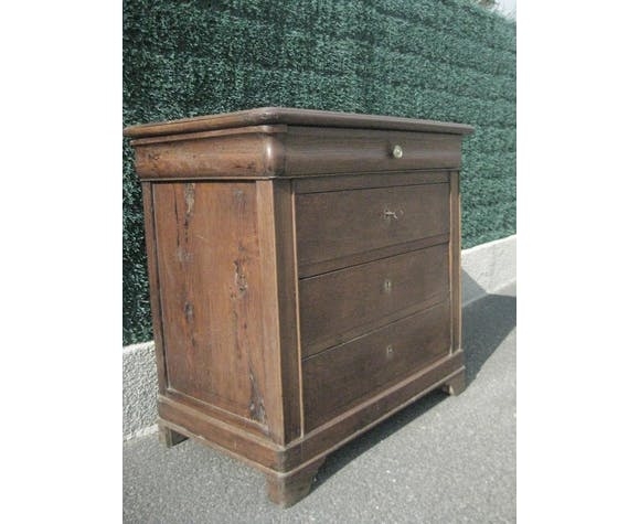 Louis Philippe solid oak dresser