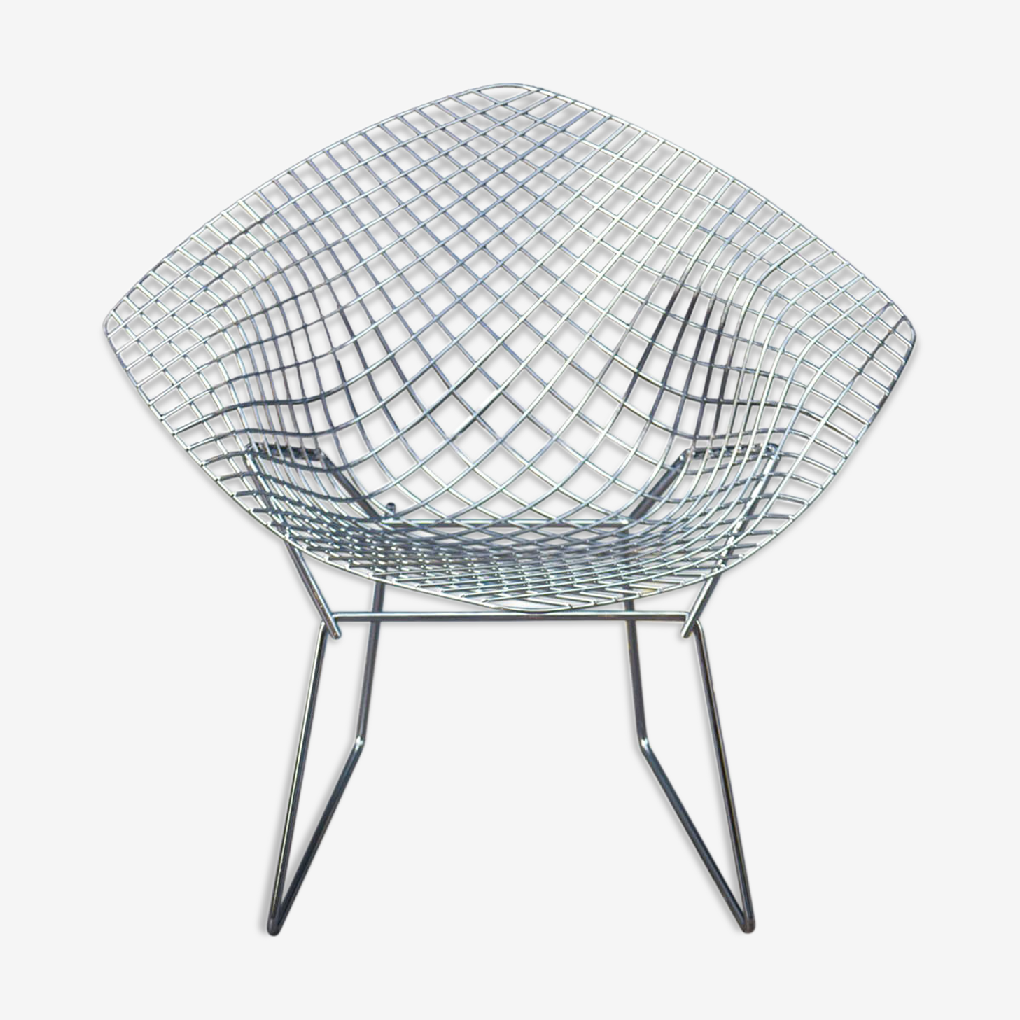 Diamond armchair by of Bertoia for Knoll