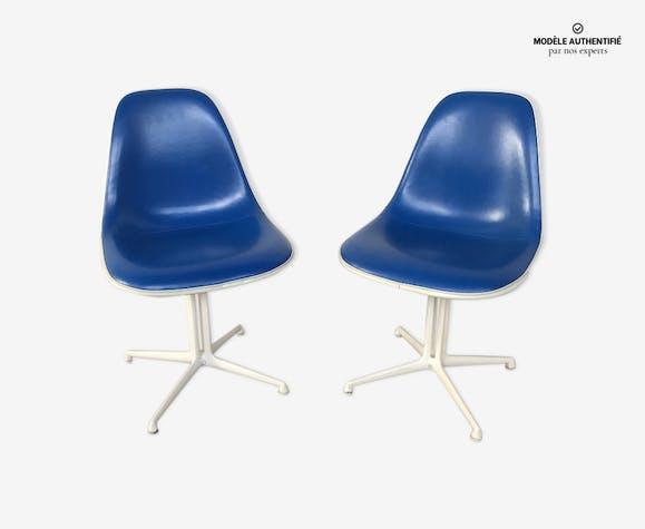 2 chaises La Fonda design Charles Eames éditeur Herman Miller année 1960