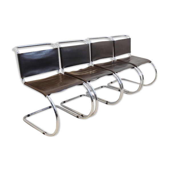 Chocolate Brown Mr10 Cantilever Chairs